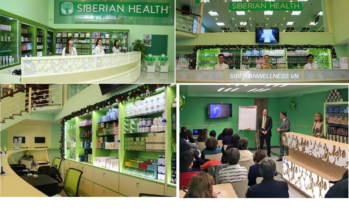 Địa chỉ văn phòng công ty siberian wellness tại hà nội và tphcm